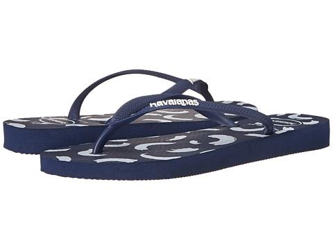 Incaltaminte Femei Havaianas Slim Swirl Flip Flops Navy Blue