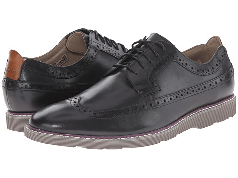 Incaltaminte Barbati Clarks Gambeson Dress Black Leather