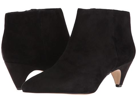 Incaltaminte Femei Sam Edelman Lucy Ankle Boot Black SuedeCanvas 1