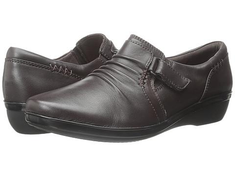 Incaltaminte Femei Clarks Everlay Coda Dark Brown Leather