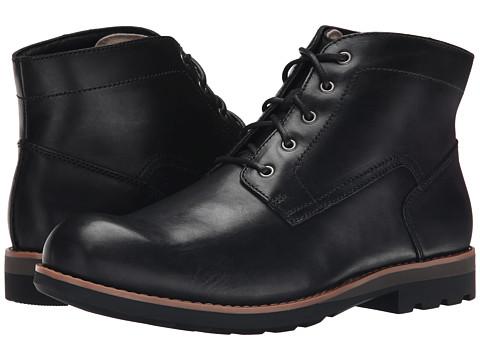 Incaltaminte Barbati Clarks Padley Mid Black Warm Lined Leather