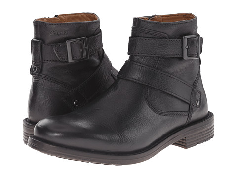 Incaltaminte Barbati Clarks Faulkner Top Black Leather
