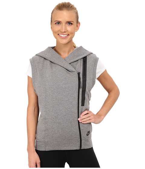Imbracaminte Femei Nike Tech Fleece Vest Carbon HeatherBlack