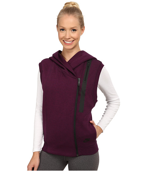 Imbracaminte Femei Nike Tech Fleece Vest MulberryHeatherBlack