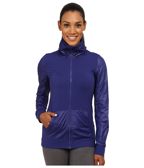 Imbracaminte Femei Under Armour UA Studio Essential Jacket Europa PurpleEuropa PurpleMetallic Pewter