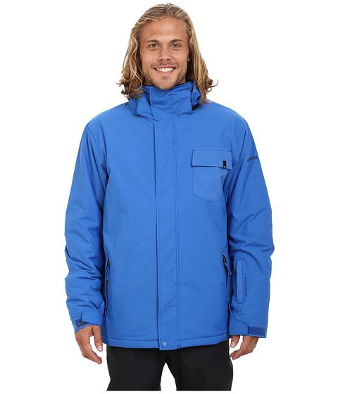 Imbracaminte Barbati Quiksilver Mission Plain Snow Jacket Olympian Blue