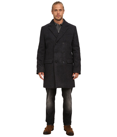 Imbracaminte Barbati French Connection Fine Tweed Charcoal Melange Check