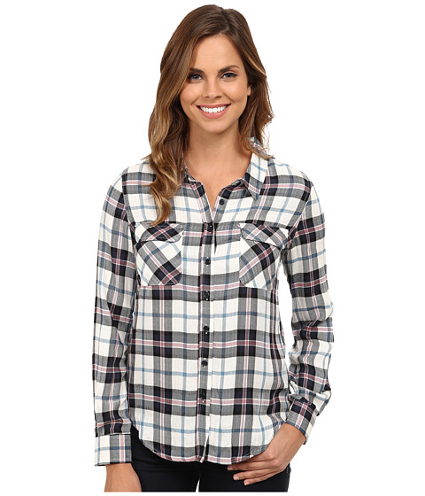 Imbracaminte Femei Gabriella Rocha Brave Plaid Button Up Navy Sea