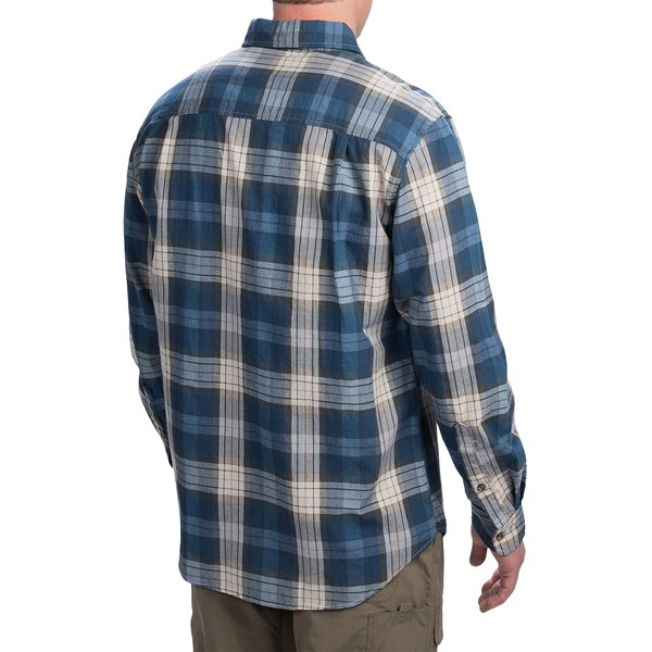 Imbracaminte Barbati Woolrich Rock Pass Plaid Shirt - Long Sleeve TRAIL BROWN (03)