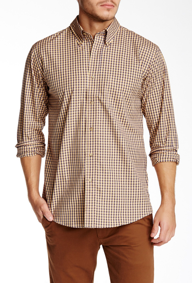 Imbracaminte Barbati Pendleton Long Sleeve Broadway Regular Fit Shirt TAN