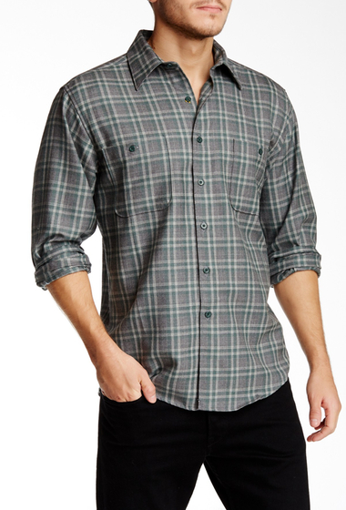 Imbracaminte Barbati Pendleton Zephyr Regular Fit Wool Shirt GREEN