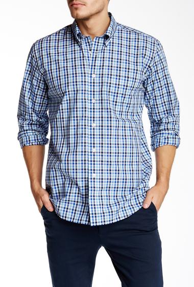 Imbracaminte Barbati Pendleton Long Sleeve Bridgeport Regular Fit Shirt BLUE MULTI CHECK