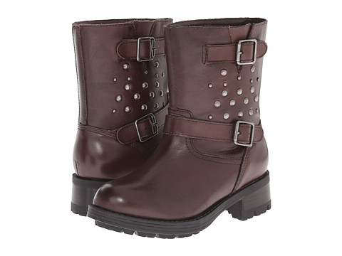 Incaltaminte Baieti Polo Ralph Lauren Biker Boot (Little Kid) Brown Leather