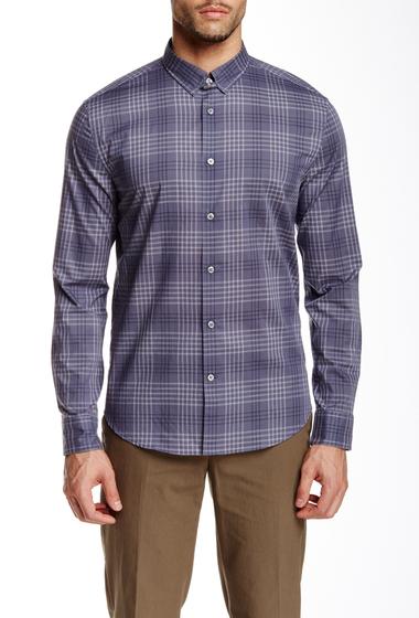 Imbracaminte Barbati John Varvatos Collection Plaid Long Sleeve Slim Fit Shirt DRY LAVENDER