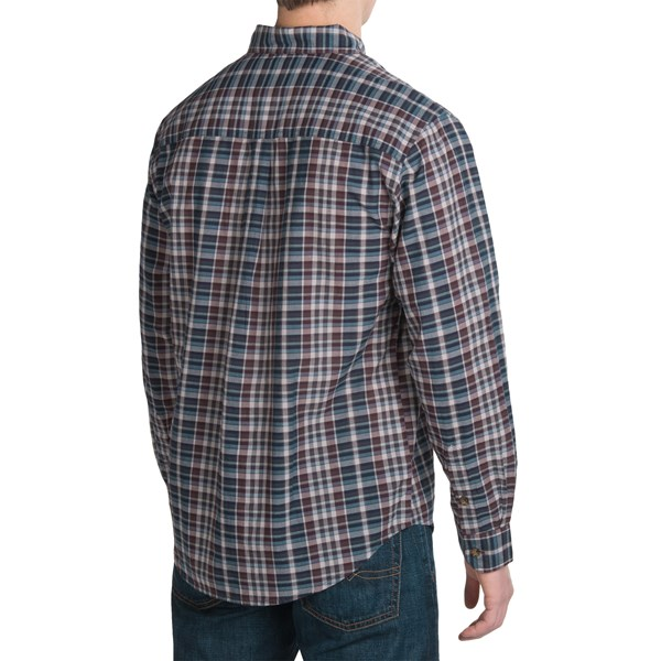 Imbracaminte Barbati Woolrich Timberline Madras Plaid Shirt - Long Sleeve DARK PLUM (01)