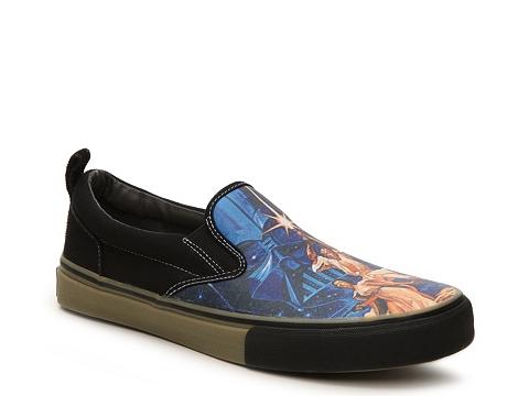 Incaltaminte Barbati SKECHERS Star Wars The Menace A New Hope Slip-On Sneaker - Mens Blue