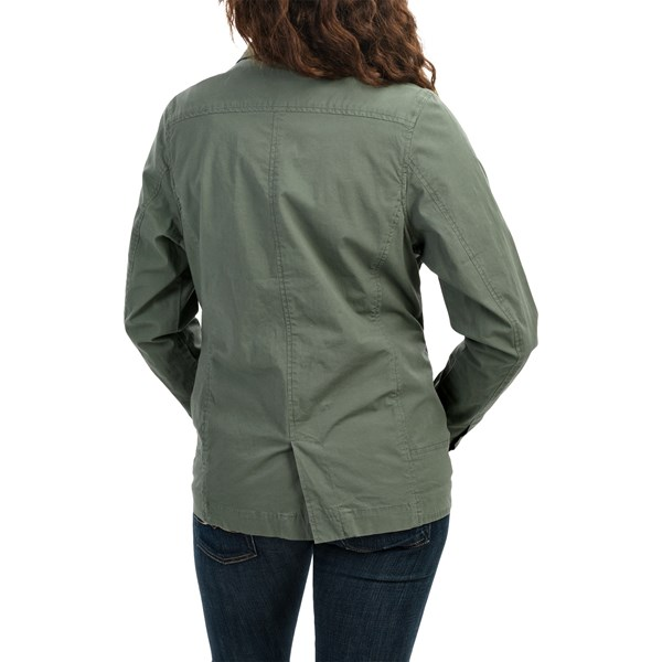 Imbracaminte Femei Woolrich Laurel Run Shirt Jacket STONE (03)