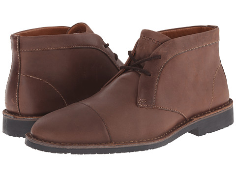 Incaltaminte Barbati Rockport Trend Worthy Chukka Dark Brown