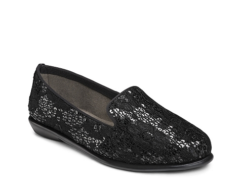 Incaltaminte Femei Aerosoles Betunia Sequin Loafer Black