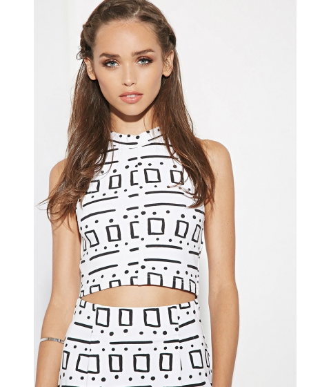 Imbracaminte Femei Forever21 The Fifth Label Into the Sun Top Whitemulti