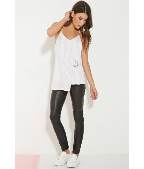 Imbracaminte Femei Forever21 Minty Meets Munt Utility Top Whiteblack