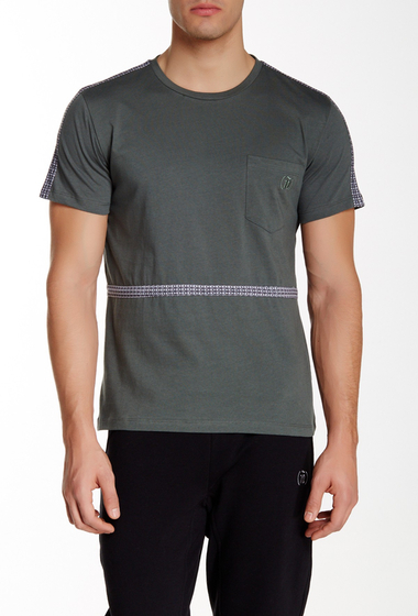 Imbracaminte Barbati Spenglish Short Sleeve Pocket Tee With Taping OLIVE