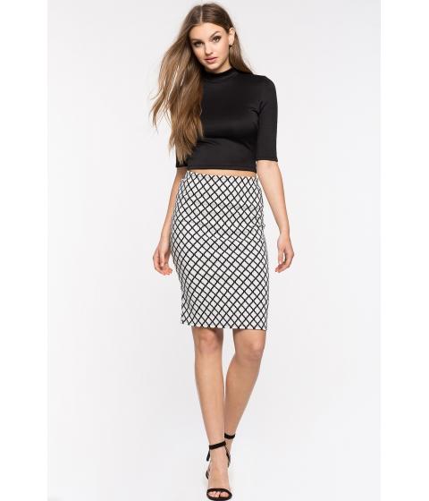 Imbracaminte Femei CheapChic Geo Vibes Pencil Skirt White Ptrn
