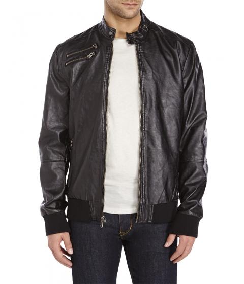 Imbracaminte Barbati Buffalo David Bitton Faux Leather Jacket Black