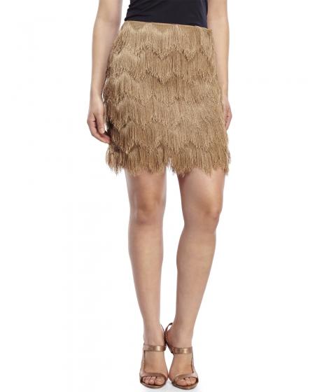 Imbracaminte Femei XOXO Fringe Skirt Gold