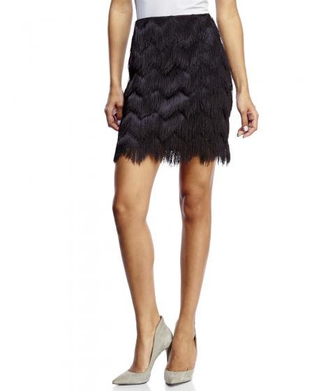 Imbracaminte Femei XOXO Fringe Skirt Black