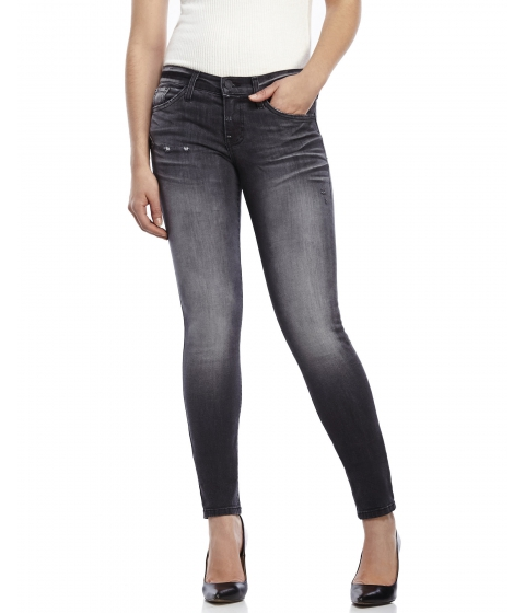 Imbracaminte Femei Flying Tomato Charcoal Faded Skinny Jeans Charcoal
