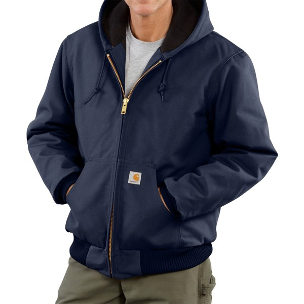Imbracaminte Barbati Carhartt Active Duck Jacket - Insulated (For Big Men) DARK NAVY (04)