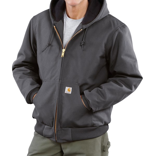 Imbracaminte Barbati Carhartt Active Duck Jacket - Insulated (For Big Men) GRAVEL (05)