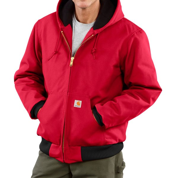 Imbracaminte Barbati Carhartt Active Duck Jacket - Insulated (For Big Men) RED (06)