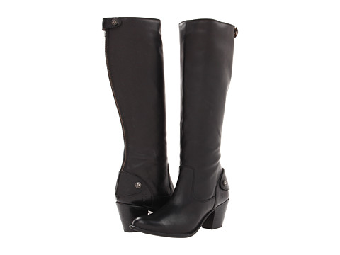 Incaltaminte Femei Frye Jackie Zip Tall Black Soft Vintage Leather