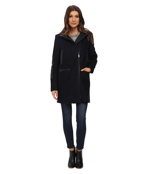 Imbracaminte Femei Vince Camuto Stand Collar Wool J8271 Navy