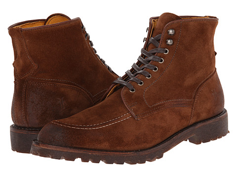 Incaltaminte Barbati Frye Walter Country Brown Suede