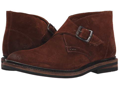 Incaltaminte Barbati Frye William Monk Chukka Brown Oiled Suede