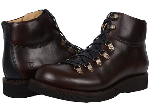 Incaltaminte Barbati Frye Evan Hiker Espresso Smooth Full Grain