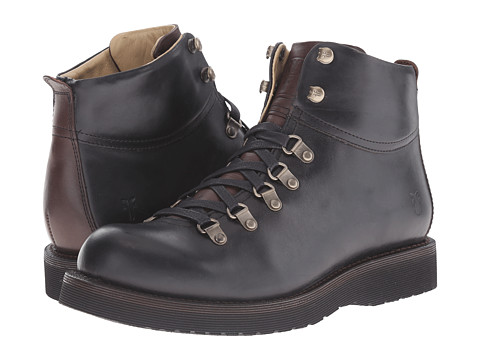 Incaltaminte Barbati Frye Evan Hiker Black Smooth Full Grain