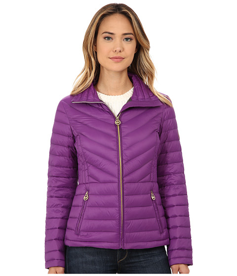 Imbracaminte Femei Michael Kors Short Zip Packable Down Violet
