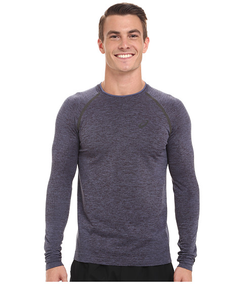 Imbracaminte Barbati ASICS Seamless Long Sleeve Dark Grey