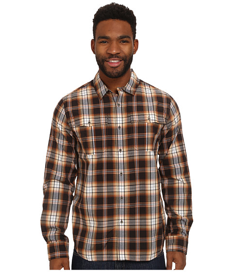 Imbracaminte Barbati Prana Avesta Long Sleeve Shirt Brown