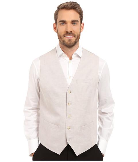 Imbracaminte Barbati Perry Ellis Linen Suit Vest Natural Linen 1