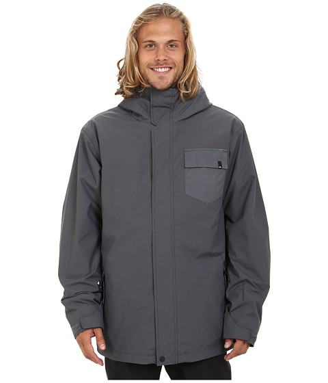 Imbracaminte Barbati Quiksilver Mission 3-in-1 Snow Jacket Iron Gate