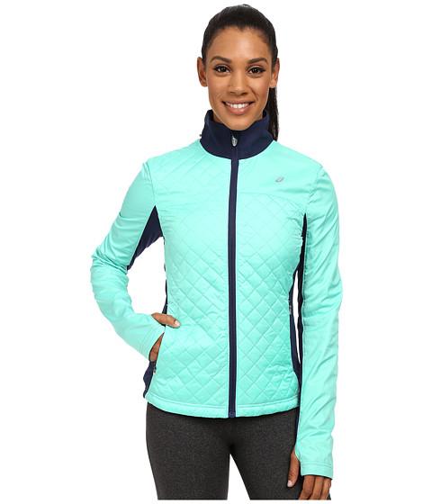 Imbracaminte Femei ASICS Thermopolis Windblocker Jacket Aqua MintIndigo Blue
