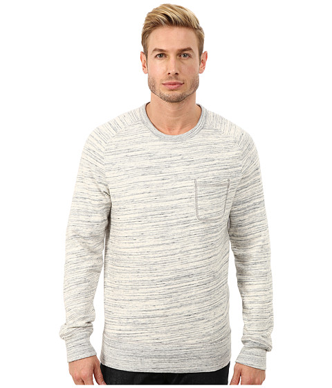 Imbracaminte Barbati Lucky Brand Space Dye Crew Heather Grey