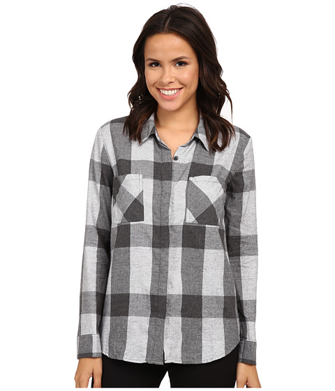 Imbracaminte Femei Splendid Wildwood Plaid Shirting Charcoal