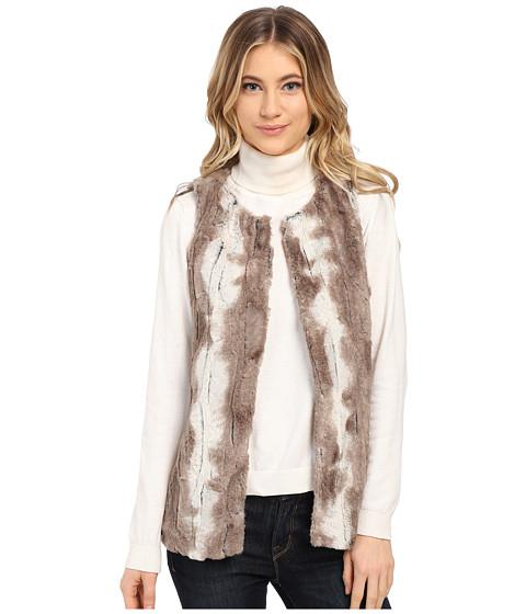 Imbracaminte Femei Gabriella Rocha Michelle Faux Fur Vest Multi Tan