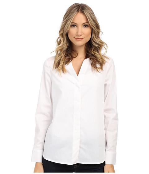 Imbracaminte Femei Sam Edelman Devon Hidden Placket Long Sleeve Blouse White